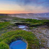Hot Springs in Hveravellir, Iceland
