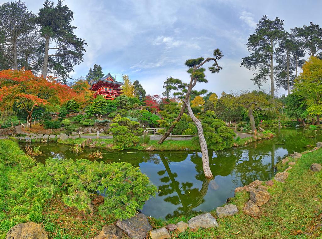 Japanese Tea Garden #2, Golden Gate Park, San Francisco, CA