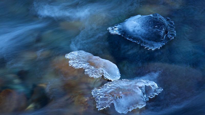 Eis / Ice<br /> Kalserbach, Nationalpark Hohe Tauern, Osttirol -  Österreich / Austria