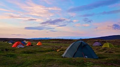 Campsite Hveravellir, Iceland