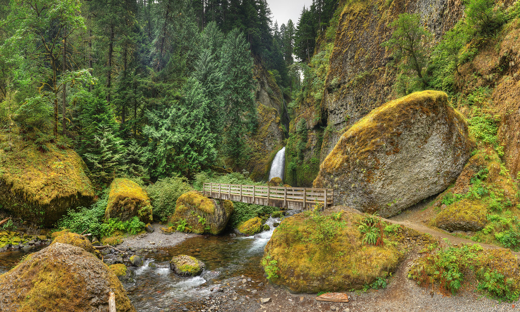Wahclella Falls, Columbia River Gorge, OR