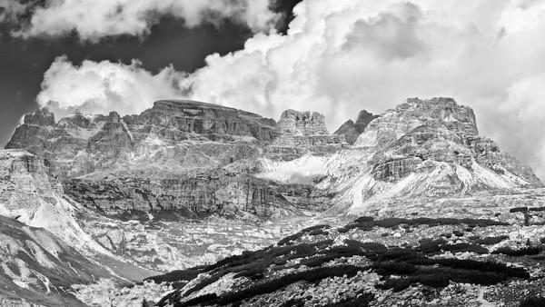 Paternkofel - Dolomiten, Südtirol, Italien  Paternkofel - Dolomites, South Tyrol, Italy - mehr dazu im Blog: Dolomiten in Schwarzweiß