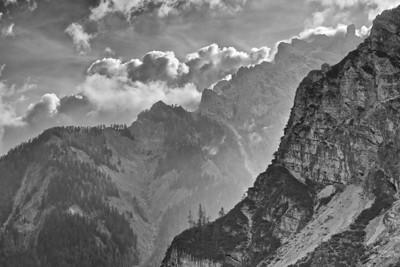 Altpragser Tal - Dolomiten, Südtirol, Italien  Old Braies - Dolomites, South Tyrol, Italy - mehr dazu im Blog: Dolomiten in Schwarzweiß