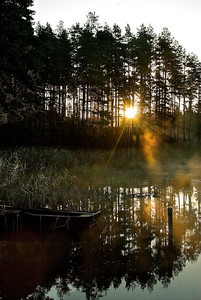 Früher Morgen am Glaskogens - Schweden  Early Morning at Glaskogens - Sweden  mehr dazu im Blog: Reiseziele in Schweden