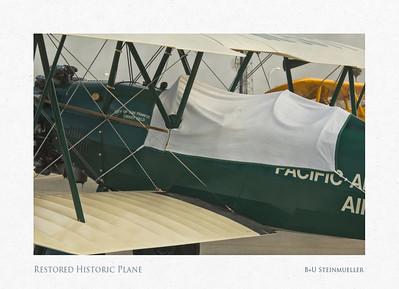 Restored Historic Plane