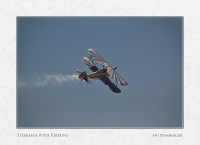 Stearman with Ribbons