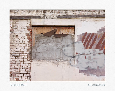 Patched Wall