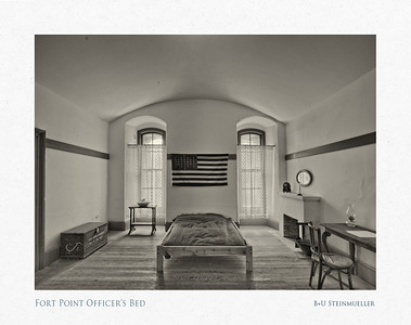 Fort Point Officer's Bed