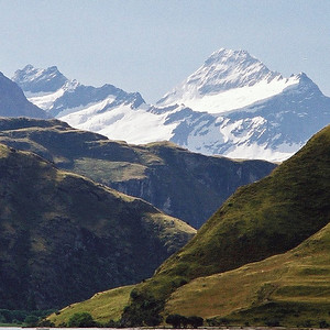 "TSS LWanaka MtAspiring 005.jpg 0 10.8x10.8cm/4x4"" in stock Lake Wanaka and Mt Aspiring South Island New Zealand"