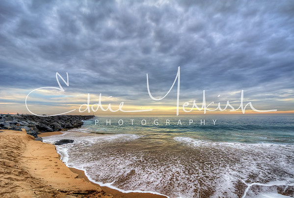 Cloudy Morning At The Wedge