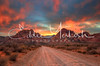 Red Rock Canyon Sunset