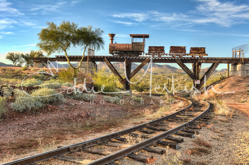 Under The Mining Cars