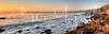 Corona Del Mar Shoreline Panorama