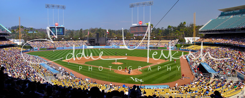 Dodger Stadium - Los Angeles, California<br /> (sorry, this image is not available for purchase)