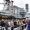 ANZAC Day 2015 Service on board the USS Midway in San Diego