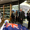 Prime Minister's visit to China 2013. Tim Groser, Minister for Trade visiting a high-end New Zealand specialty shop - Fresh Mart Supermarket, Sogo Department Store, Shanghai. Credit NZ Inc, Charlie Xia