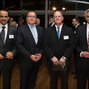 Ahmed Al-Johani, Saudi Arabian Consular-General, Minister Murray McCully, Ian McArtur and Mohammed I Al Mukhtar at the launch of the NZ Inc GCC (Gulf Cooperation Council), June 2013. Credit: New Zealand Ministry of Foreign Affairs and Trade