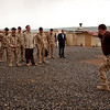 Prime Minister John Key visits NZ troops at the NZ Provincial Reconstruction compound in Bamyan, Afghanistan, and is welcomed by a haka. Credit: New Zealand Ministry of Foreign Affairs and Trade