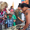 Imitation cultural tatoos at the Pacific Showcase 2013. Credit New Zealand Ministry of Foreign Affairs and Trade