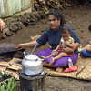 Woman cooking, Samoa. Credit: New Zealand Ministry of Foreign Affairs and Trade