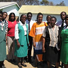 Ministry of Health staff at Mazowe Clinic, Zimbabwe with New Zealand Aid Programme staff. The clinic manages acute malnutrition and HIV/AIDS. Credit: New Zealand Ministry of Foreign Affairs and Trade