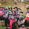 Children in traditional costume at an FAO project - Restoring traditional crops, in Padre Rumi, outside of Huancavelica, Peru. Credit: New Zealand Ministry of Foreign Affairs and Trade