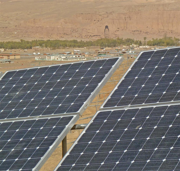 New Zealand's solar energy project will see electricity reticulated in and around Bamyan town. Credit New Zealand Ministry of Foreign Affairs and Trade