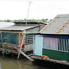 Squatter housing on the Mekong river, Cambodia. Credit: New Zealand Ministry of Foreign Affairs and Trade
