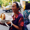 Local woman buying bread in the Kyrgyz Republic. Credit: New Zealand Ministry of Foreign Affairs and Trade
