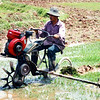 Modified tricycle used to till soil. Huang Hill tribal village in Luang Nam Ta, Lao PDR. Credit: New Zealand Ministry of Foreign Affairs and Trade