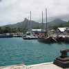 Wharf in Rarotonga, Cook Islands. Credit: New Zealand Ministry of Foreign Affairs and Trade