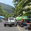 Roadside stalls in Rarotonga, Cook Islands. Credit: New Zealand Ministry of Foreign Affairs and Trade