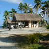 Village houses on Nassau, Cook Islands (accessible only by a four day boat trip from Rarotonga). Credit: New Zealand Ministry of Foreign Affairs and Trade