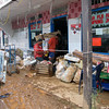 16 Cyclone Ami 2003 Flood damaged goods being emptied from a local shop, Fiji. Credit: New Zealand Ministry of Foreign Affairs and Trade