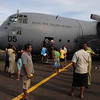 14 Offloading emergency supplies at Vanua Levu, Fiji after Cyclone Tomas, 2010. Credit: NZDF