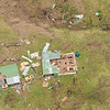 Aerial view of damage done by Cyclone Tomas, Fiji, 2010. Credit: NZDF