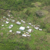 Aerial view of damage by Cyclone Tomas, Fiji, 2010. Credit: NZDF
