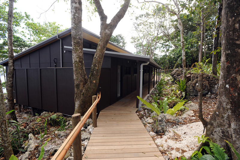 New accommodation block at the Matavai Resort, Pacific Mission 2012, Alofi, Niue, Wednesday, July 25, 2012. Credit:SNPA / Ross Setford