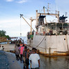 A ship at the old wharf in Buka, Papua New Guinea. Credit: New Zealand Ministry of Foreign Affairs and Trade