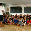Samoan school students in class listening to their teacher. Credit: New Zealand Ministry of Foreign Affairs and Trade