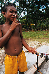 Little boy, Solomon Islands. Credit: VSA