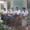 Local teenagers dressed in their school uniform, Tuvalu, 2010. Credit: New Zealand Ministry of Foreign Affairs and Trade