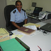 First woman Police Officer in Tuvalu - Acting-Superintendent Matevake Pakatu. Credit: New Zealand Ministry of Foreign Affairs and Trade