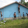 New Zealand Defence Force staff undertake repairs of Nauti Primary School, Tuvalu, 2010. Credit: New Zealand Ministry of Foreign Affairs and Trade