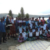 Palm project - Soap makers graduate after soap making workshop. Funded by the NZAID KOHA fund. Credit: Palm Project and NZCHET (New Zealand Children's Health Education Trust)
