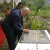 NZ Ambassador Philip Gibson - launch of volcanic early warning system at Sleman, central Java, Indonesia. Credit: New Zealand Ministry of Foreign Affairs and Trade