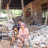 An elderly lady whose home was destroyed by the earthquake, Oct 2009 in Padang, Indonesia. Credit: New Zealand Ministry of Foreign Affairs and Trade