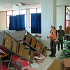 Kiwi engineers on the ground in Padang following the Oct 2009 earthquake, Indonesia. Credit: New Zealand Ministry of Foreign Affairs and Trade