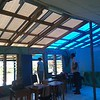 Repaired classroom at Navunisea District School, Silana