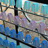 Drinking glasses lined up at a primary school, Vietnam. Credit: New Zealand Ministry of Foreign Affairs and Trade